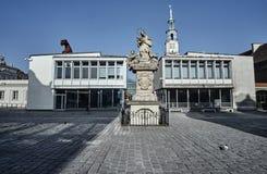 Σχήμα ST John Nepomuk στο παλαιό τετράγωνο αγοράς Στοκ φωτογραφία με δικαίωμα ελεύθερης χρήσης