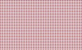 Σχεδίων κόκκινος καρδιών ατελείωτος βαλεντίνος διακοπών συμβόλων υποβάθρου σειράς εορταστικός ελεύθερη απεικόνιση δικαιώματος