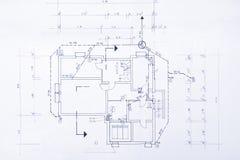 σχεδιάγραμμα αρχικό Στοκ Φωτογραφίες