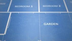 Σχεδιάγραμμα εγγράφου της οικοδόμησης των αρχιτεκτονικών σχεδίων - V1 φιλμ μικρού μήκους