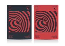 Σχεδιάγραμμα ιπτάμενων μουσικής ροκ Στοκ Εικόνες