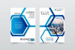 Σχεδιάγραμμα, φυλλάδιο, πρότυπο, flayer, περιοδικό, σχέδιο κάλυψης για το α Στοκ Φωτογραφία