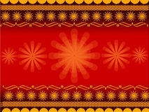 σχεδιάστε το rangoli Στοκ Εικόνα