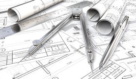 Σχεδιαγράμματα και ρόλοι σχεδίων διανυσματική απεικόνιση
