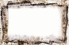 σχεδιασμένο μελάνι πλαισίων στοκ εικόνα με δικαίωμα ελεύθερης χρήσης