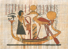 σχεδιασμός Αιγυπτίου Στοκ Φωτογραφίες