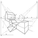 σχεδιασμός γεωμετρικός Στοκ Φωτογραφία