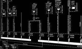 Σχεδιασμός εφαρμοσμένης μηχανικής στοκ εικόνες με δικαίωμα ελεύθερης χρήσης