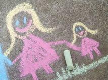 Σχεδιασμός παιδιών της οικογένειας Στοκ εικόνες με δικαίωμα ελεύθερης χρήσης
