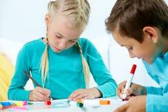 Σχεδιασμός παιδιών Στοκ εικόνες με δικαίωμα ελεύθερης χρήσης