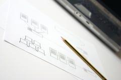 σχεδιασμός του δικτύου στοκ φωτογραφία με δικαίωμα ελεύθερης χρήσης