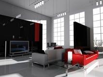 σχεδιασμός του δωματίο&ups Στοκ Εικόνες