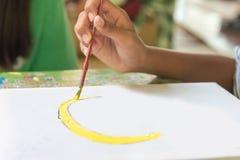 Σχεδιασμός χεριών παιδιών ` s στοκ φωτογραφία με δικαίωμα ελεύθερης χρήσης