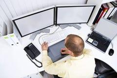 σχεδιαστής γραφικός Στοκ εικόνα με δικαίωμα ελεύθερης χρήσης