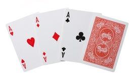 Σχεδόν πόκερ στοκ εικόνα