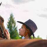 Σχετικά με το άλογο Στοκ εικόνες με δικαίωμα ελεύθερης χρήσης