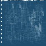 σχεδιάγραμμα αστικό Στοκ εικόνες με δικαίωμα ελεύθερης χρήσης