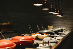 Σχεδιάγραμμα της κουζίνας στοκ εικόνα