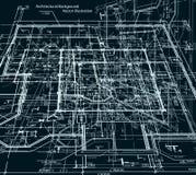 Αφηρημένο σκοτεινό υπόβαθρο σχεδιαγραμμάτων. Διάνυσμα Στοκ φωτογραφία με δικαίωμα ελεύθερης χρήσης