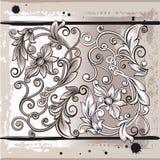 σχεδιάστε τα στοιχεία floral Στοκ φωτογραφία με δικαίωμα ελεύθερης χρήσης