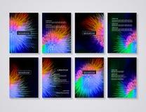 Σχεδιαγράμματα ιπτάμενων φυλλάδιων Στοκ εικόνες με δικαίωμα ελεύθερης χρήσης