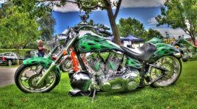 Σχεδιασμένη συνήθεια μοτοσικλέτα στοκ φωτογραφία με δικαίωμα ελεύθερης χρήσης