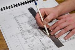 σχεδιασμός οικοδόμησης στοκ εικόνα με δικαίωμα ελεύθερης χρήσης