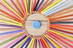 Σχεδιαστής μολυβιών ζωηρόχρωμος Στοκ εικόνες με δικαίωμα ελεύθερης χρήσης