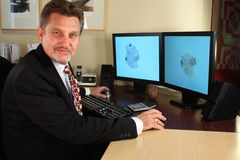 σχεδιαστής CAD Στοκ εικόνα με δικαίωμα ελεύθερης χρήσης