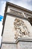 Σχηματίστε αψίδα το θρίαμβο, Παρίσι, Γαλλία. Στοκ εικόνες με δικαίωμα ελεύθερης χρήσης