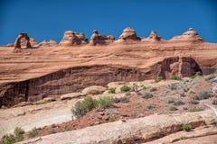 σχηματίστε αψίδα το λεπτό εθνικό πάρκο Utah αψίδων Στοκ Εικόνες