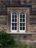 Σχηματισμένα αψίδα γλιστρώντας παράθυρα ζωνών Στοκ Φωτογραφίες