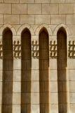Σχηματισμένη αψίδα αραβική αρχιτεκτονική Στοκ φωτογραφίες με δικαίωμα ελεύθερης χρήσης