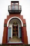 σχηματισμένη αψίδα πόρτα Στοκ Φωτογραφίες