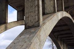 σχηματισμένη αψίδα γέφυρα Στοκ Φωτογραφία