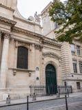 Σχηματισμένη αψίδα πόρτα, Sorbonne, Universites de Παρίσι Στοκ φωτογραφία με δικαίωμα ελεύθερης χρήσης