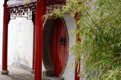 Σχηματισμένο αψίδα φάσμα πόρτα-Qingyun Στοκ εικόνα με δικαίωμα ελεύθερης χρήσης