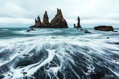 Σχηματισμοί βράχου βασαλτών στοκ εικόνες