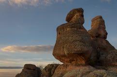 Σχηματισμοί βράχου σε Belogradchik, Βουλγαρία Στοκ Εικόνες