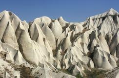 Σχηματισμοί βράχου σε Capadoccia, Τουρκία Στοκ εικόνα με δικαίωμα ελεύθερης χρήσης