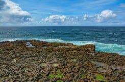 Σχηματισμοί βράχου σε Inishmore, νησιά Aran, Ιρλανδία Στοκ Φωτογραφίες