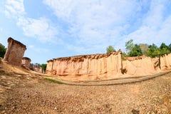 Σχηματισμοί βράχου στην Ταϊλάνδη Στοκ Εικόνα