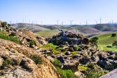 Σχηματισμοί βράχου στους λόφους του ενάντιου νομού πλευρών στοκ φωτογραφία με δικαίωμα ελεύθερης χρήσης