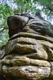 Σχηματισμοί βράχου στους υψηλούς βράχους, φρεάτια Tunbridge, Κεντ, UK Στοκ φωτογραφία με δικαίωμα ελεύθερης χρήσης