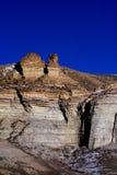 Σχηματισμοί βράχου, δύσκολα βουνά στοκ εικόνες