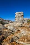 Σχηματισμοί βράχου Torcal de Antequera Στοκ εικόνες με δικαίωμα ελεύθερης χρήσης
