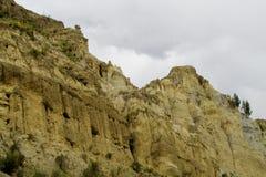 Σχηματισμοί βράχου Valle de las Animas κοντά στο Λα Παζ στη Βολιβία στοκ φωτογραφία με δικαίωμα ελεύθερης χρήσης
