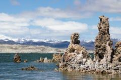 Σχηματισμοί ηφαιστειακών τεφρών στη μονο λίμνη Καλιφόρνια στοκ φωτογραφίες με δικαίωμα ελεύθερης χρήσης