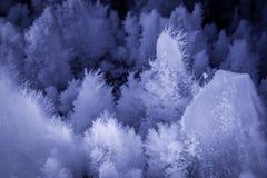 Σχηματισμοί πάγου σπηλιών Στοκ Εικόνα