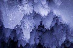 Σχηματισμοί πάγου σπηλιών Στοκ Φωτογραφίες